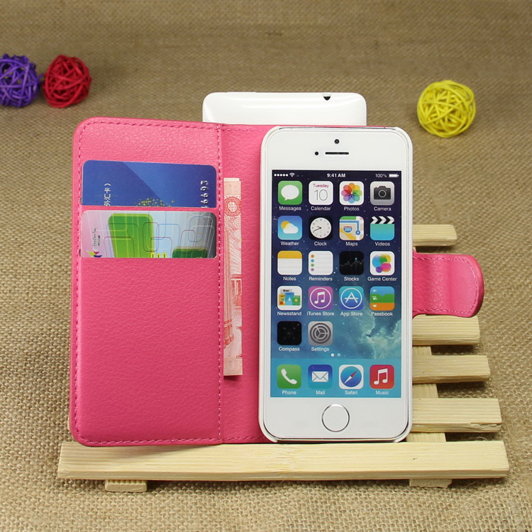 Low price Best-Selling pu leather cell phone cases for iphone5