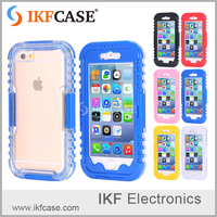 2016 Customized Mobile Waterproof bag cell phone Case for iphone 6 plus