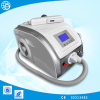 home use mini portable q switch laser tattoo removal machine/pigment, blood vessels removal/tattoo removal q switch nd yag laser