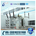 Three-phase 110kv Three winding On-load Power Transformer with ONAF/ONAN