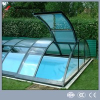 12mm Swimming pool cover glass