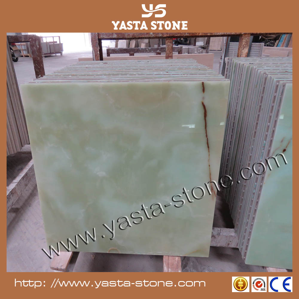 Wholesale 24x24 Floor Tile Pure Green Onyx