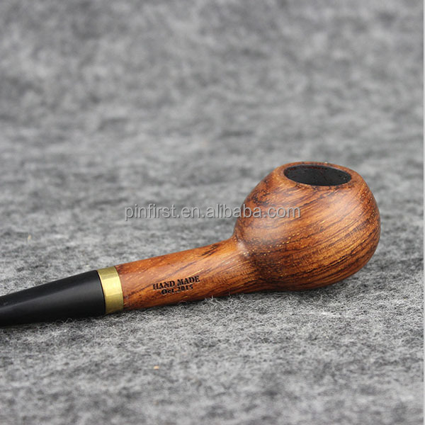Hot selling Rose Wooden Tobacco Pipe durable health Smoking Pipe