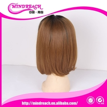 Mindreach hair factory direct selling cheap good quality synthetic wig bob style