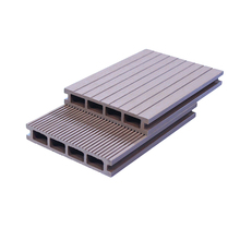 Water-resistant and waterproof WPC outdoor decking in engineered flooring