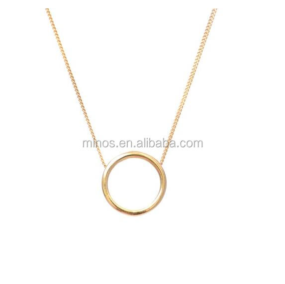 One Dollar Jewelry Wholesale, Stainless Steel Halo Necklace