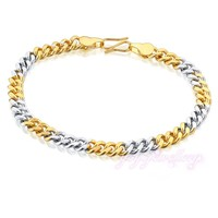 Promotion Children's Day Gift Kids 14kt Yellow Gold Rope Chain Bracelet