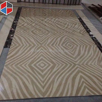 Zebra stripe brown ceramic tiles
