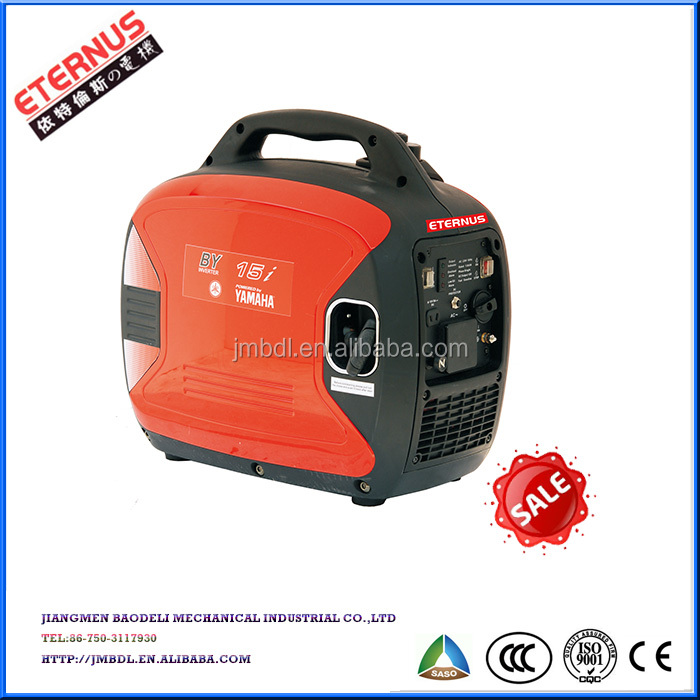 240v Portable Inverter Generator Powered by Yamaha