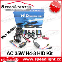 Top Selling and High Quality AC DC 12V 24V 35W 55W 75W HID Bi Xenon Kit H4