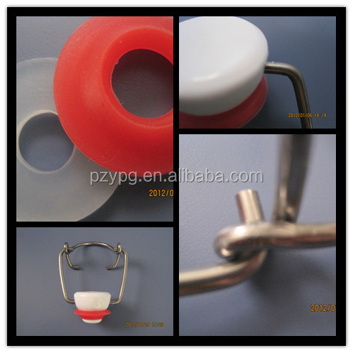 German Standard Bottle Flip top Cap with Gold Plating Wire Dia 3.0mm