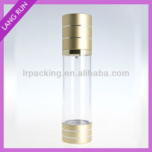 15ml/30ml/50ml/80ml/100ml plastic airless bottle