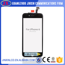 4.7 inch mobile phone lcd display for iphone 6 with digitizer touch assembly