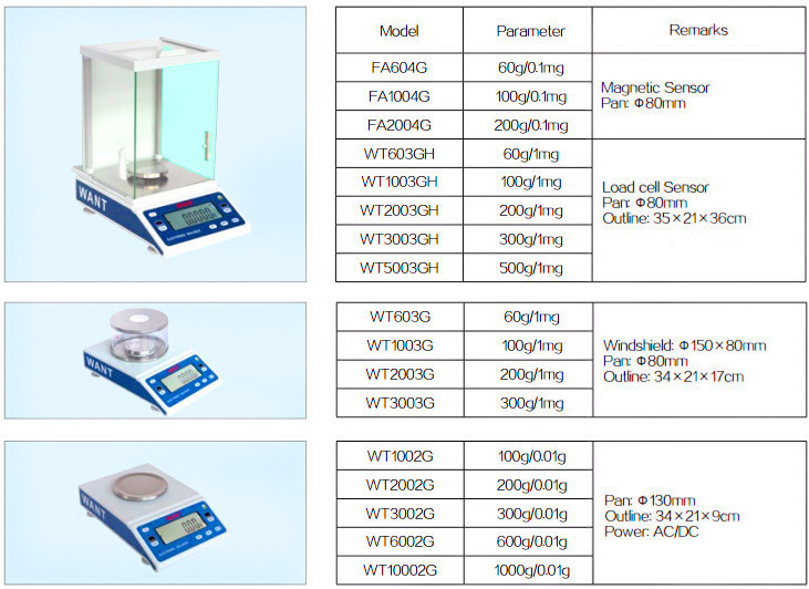 Precision Digital Electronic Analytical Balance