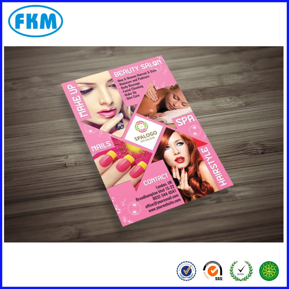 Custom design e personalizzato Hair and Beauty Salon Flyer
