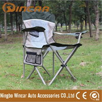 Portable Folding Chair for camping With Cup Holder -- Hot Promotion Item