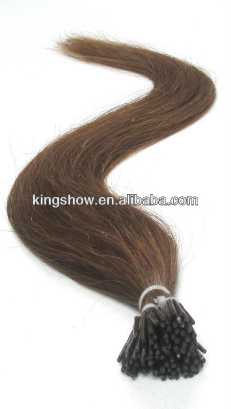 Individual strand i-tip yaky indian remy hair extension