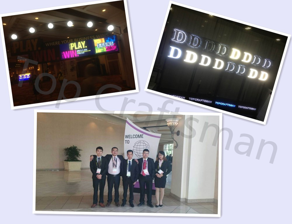 High quality new led backlit letter sign