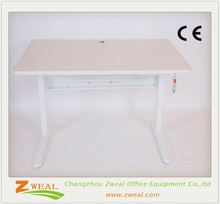 manual adjustable height notebook computer table has competitive advantage modern desk office furniture
