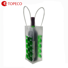 High Quality Best Selling Products Wholesale Reusable Custom Wine Bottle Gel Ice Pack PVC Wine Cooler Bag