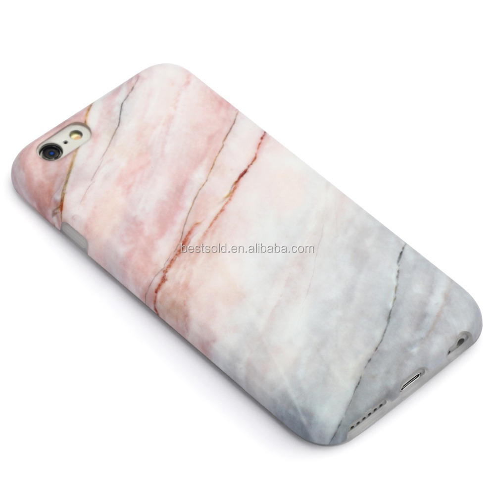 2016 New Arrival Unique Custom Phone Cases for iphone 6s Real Marble Phone Case OEM LOGO Phone