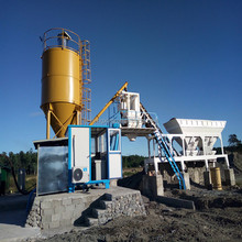 Engineer Available Concrete Mixing Plant Mobile Concrete Batching Plant for Road Works