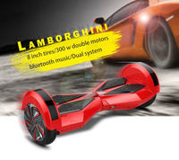 With Bluetooth Rohs/FCC/CE 36V 4.4AH 350W Mini Smart Self Balancing Electric Unicycle Scooter Balancer 2 wheels