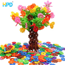 Hot Selling 720PCS Interlocking Disc Educational Puzzle Game Building Toys Snow flake For Brain