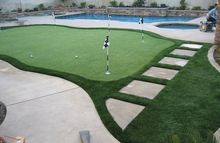 Durable Synthetic Indoor Putting Green