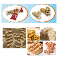 Cereal bar production line | Puffing rice forming machine | Cereal bar forming machine