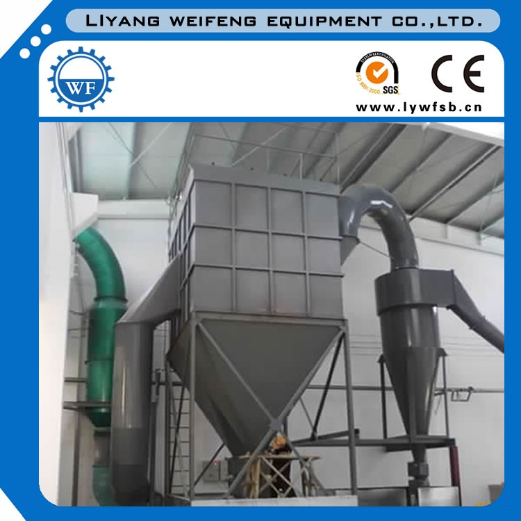China industrial air filtration equiment bag filter dust collector for granite polishing