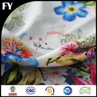 Custom high quality digital printed taffeta fabric properties