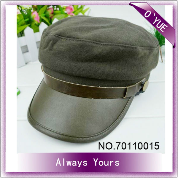 Army Green Cute Military Caps Hats