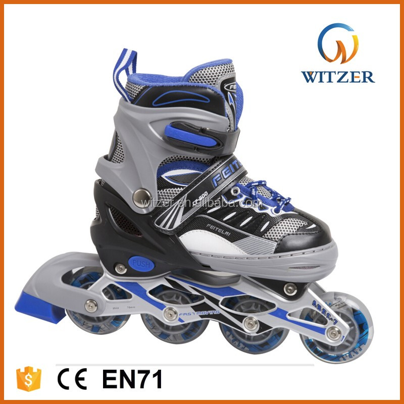 High Quality PU/PVC Wheel Skate Board with Leading Technology Colorful Shoes for Kids