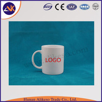 wholesale High quality gift custom blank coffee ceramic mugs with spoon