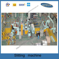 TH44Q-3x1600 high speed stainless steel coil slitting line machine manufacturer