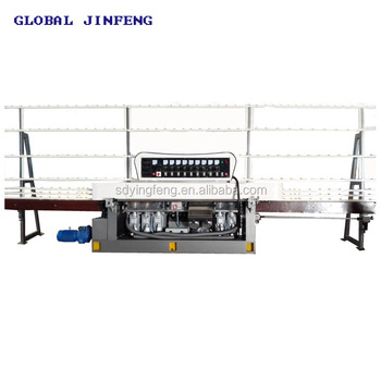 JFE-9243 Vertical Glass straight line grinding and edge polishing machine high quality with CE