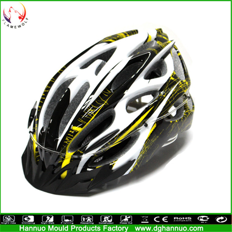 china wholesale safty cyclist bicycle led light helmet