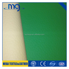 Hot sell leather fabric for making bags pvc best price