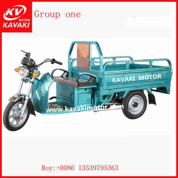 China Supplier Package Delivery Vehicles Three Wheel Electric Cargo Bike Tricycle