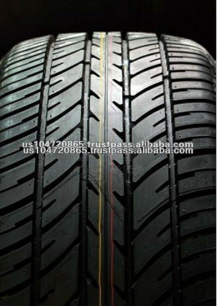 Black Color High Quality Brand New Car Tyre