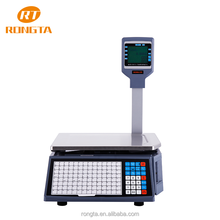 Digital label barcode printing acs-30 price computing scale