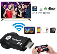 EasyCast OTA WIFI Miracast DLNA Airplay Video Adapter Wireless Ipush Video Mirroring Google Chrome Cast TV Dongle