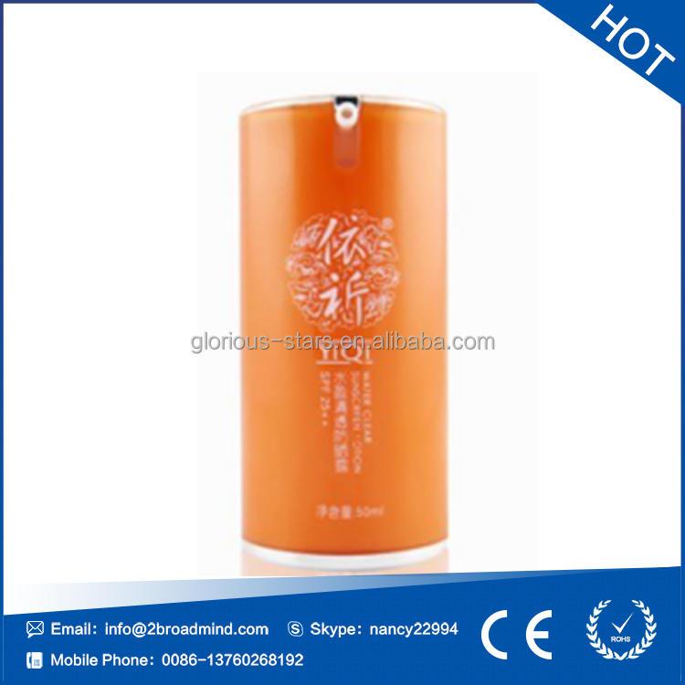 LX1856 Plastic lotion/sunscreen sprayed bottle <strong>cosmetics</strong>