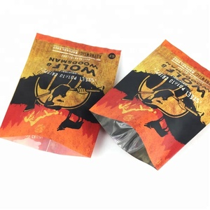 CPP material banana chips flexible packaging potato chips packaging bag with custom logo design printing