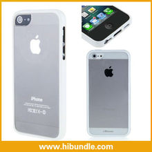 Top quality fantastic tpu+plastic bumper for iphone5