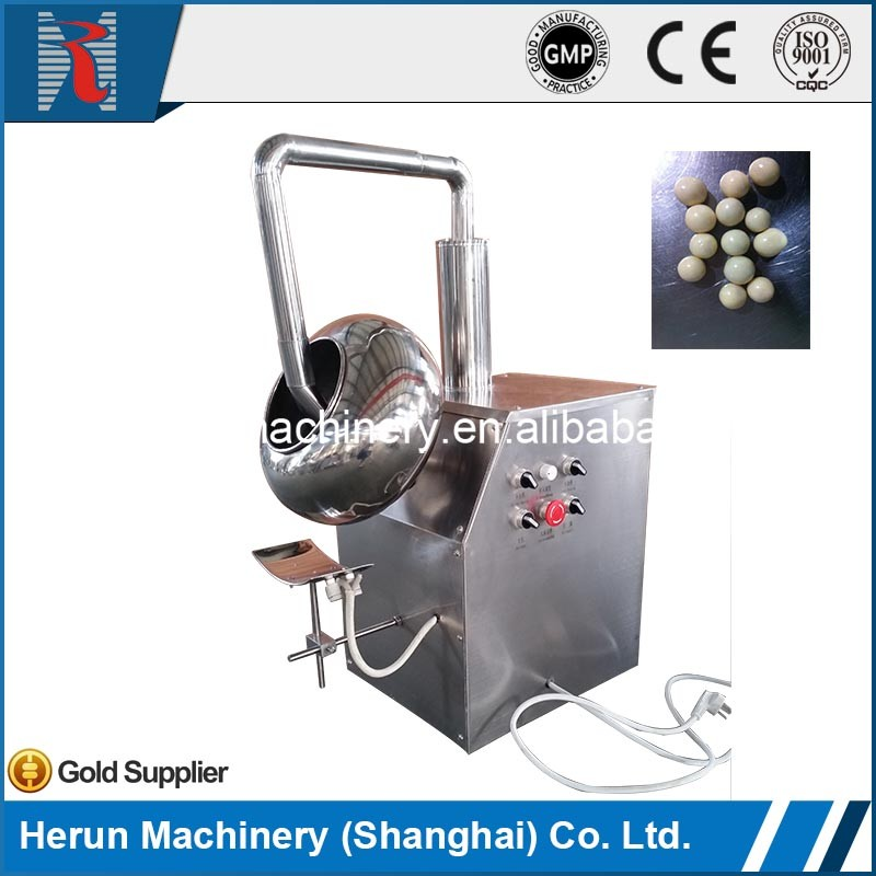 BY-300/400 fast delivery snacks nuts sugar coating machine