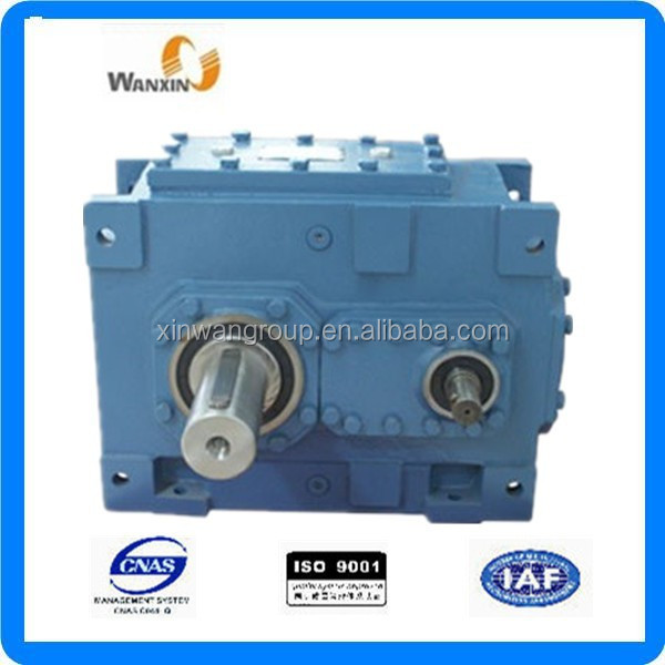 H series helical speed reducer High-power electric motor with reduction gear
