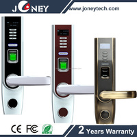 RFID biometric fingerprint door lock with European standard mortise
