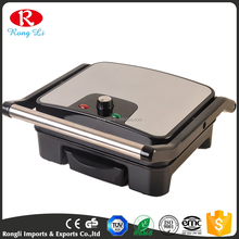 2016 hot sell cheap stainless cover grill breakfast sandwich maker